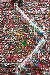 Gum Pipe (Mr Moss) Tags: usa america seattle gum chewinggum wall pipe bubblegum streetart