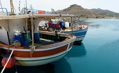 013_3415_6_7_Photographic (Andrew Wilson 70) Tags: kissamosportcrete crete countyclare greece port water boats green blue
