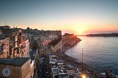 Good Morning Valletta (Michael N Hayes) Tags: malta valletta mediterranean europe sunrise summer fujifilmxpro1 sea culture city