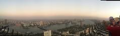 A Cairo panorama (Kodak Agfa) Tags: thisisegypt thisiscairo        cairotower landmark landmarks tower towers africa mideast panorama egypt cairo