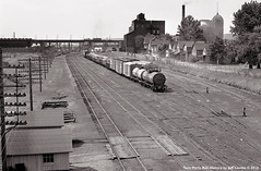 Missabe Junction Yard at Duluth, Minnesota 1961 (Twin Ports Rail History) Tags: twin ports rail history by jeff lemke time machine duluth missabe iron range railway junction 27th avenue west minnesota 1961 train car interlocking brewing malting company northern pacific np dmir slab town