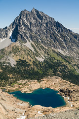 Ingalls Lake and Stuart (brookpeterson) Tags: teanaway lakeingalls mtstuart
