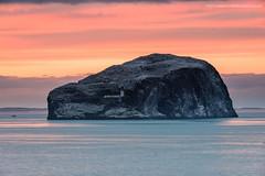 The Bass Rock (Damon Finlay) Tags: nikon d750 nikond750 nikkor 80200mm f28 nikkor80200mmf28 coast firth forth firthofforth seascape scotland bass rock bassrock east lothian eastlothian north berwick northberwick sunset