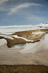 Krafla Viti Crater 11 (sarahmonious) Tags: kraflaviticrater kraftla viti myvatn kraftlavolcano volcanocrater crater hverir snow route1iceland route1 ringroad iceland iceland2016 icelanding2016 traveling