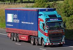 Pollock Volvo FH R333PSL (andyflyer) Tags: truck lorry pollock artic hgv roadtransport volvofh r333psl pollocksscotrans