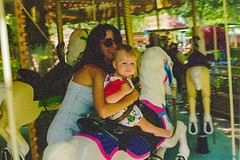 1998_07~028 (If you didn't film it, it didn't happen!) Tags: california indoor photograph amusementpark 1998 sixflagsmagicmountain losangelescounty amusementride ellenmiller candacemiller