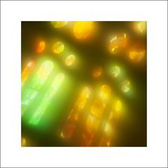 A-Ha #2 (Mr sAg) Tags: barcelona windows light red orange holiday blur colour green yellow reflections tv spain basilica catalunya sagradafamilia stainedglasswindows antonigaudi thesunalwaysshinesontv mrsag simonharrison2015