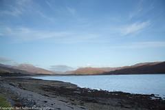 Loch Carron from Lochcarron (Neil Sutton Photography) Tags: winter landscape scotland unitedkingdom coastline westerross applecross scottishhighlands lochcarron bealachnaba passofcattle