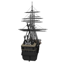 05-Black_Pearl-final (Skyrunner42) Tags: black game jack video ship lego pirates sparrow pirate caribbean pearl