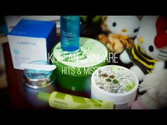 HITS & MISSES: Korean Skincare (July 2013) (freedunkie) Tags: beauty review makeup korea m loves southkorea laneige skincare aloeveragel innisfree eyegel naturerepublic steamcream greenteaeyecream