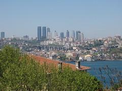 Bosphorus of Istanbul (Alexanyan) Tags: bridge blue sea turkey istanbul türkei turkish bosphorus eurasia marmara