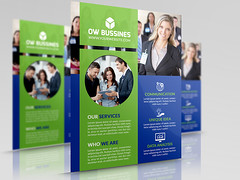 Corporate Business Flyer Template (omar_almudaries) Tags: blue modern photoshop print corporate design marketing flyer flat creative advertisement professional clean clear business company agency advert consultant psd product brochure template multicolor consulting editable printready magazineads businessflyer psdflyer multipurposeflyer ios8 creativecorporateflyer