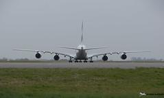 [CDG] (Orekaman) Tags: plane airplane airport aircraft emirates airbus aeroport avion cdg airbusa380 lfpg a6eod