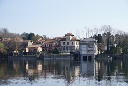 Ticino visto da Sesto Calende