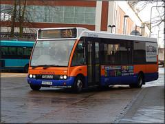 Centrebus 387 (MX03 YCM) (Colin H,) Tags: travel bus solo service cb henderson stevenage 390 mistral 2015 ibp optare ycm mx03 centrebus m850 ipswichbuspage mx03ycm colinhumphrey