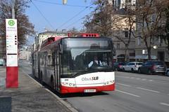 Trollino 18 SLB 308 (Swisstram91) Tags: salzburg sterreich solaris autriche slb trolleybus mirabellplatz trollino