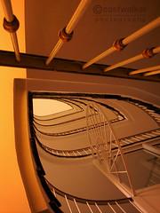 Freeform Jive (coastwalker) Tags: architecture stairs hamburg steps perspective stairwell stairway treppe escalera staircase architektur escalier treppenhaus escadaria 阶 coastwalker