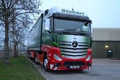 Eddie Stobart - H3350 - GN14WMA - Deb; Eddie Stobart Depot, Brunthill Road, Carlisle; 19-03-2015