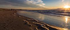 At the beach (Per-Karlsson) Tags: sunset sea summer sun beach denmark gold evening waves dusk laesoe læsø laeso canonef24105mmf40lisusm canoneos6d