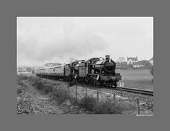6960 and 4936. (martin289) Tags: heritage br 6960 steam kettle event locomotive preserved gala gwr 460 blueanchor wsr doubleheader westsomersetrailway 4936 hallclass railview railpic 4936kinlethall martin289 griffinimages march2015 960raveninghamhall springsteamgala2015