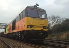 60096 (Sam Tait) Tags: england work leicestershire rail railway class maintenance tug 60 livery colas sileby 60096