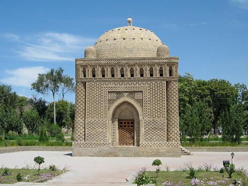 162-OUZBEKISTAN-Boukhara, mausolée Ismaïl Samani, la perle de l'Orient (début X°, le plus ancien mausolée musulman)