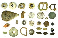 Size Ratio Montage 1 (metallic) (Welcome to The PAST) Tags: gold hammered roman brooch medieval celtic viking flint saxon scraper neolithic ironage fibula romanobritish metaldetecting stater knapped samianware metaldetectingfinds