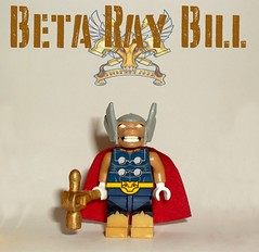 lego beta ray bill - photo #9