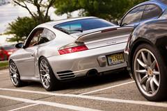 Porsche 911 turbo (Jeff_B.) Tags: auto usa newyork classic cars car silver newjersey automobile 911 exotic turbo porsche bergen caffe exotics 911turbo carscaffe carsanddecaf paramustownsquare