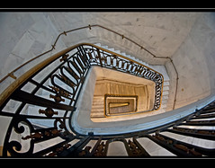 stairs (DeCo2912) Tags: city stairs hall san francisco 8mm walimex samyang