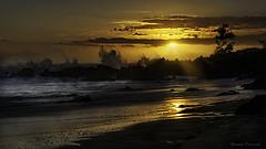 Avirons, Reunion Island - BemezPictures (Bemez-Pictures) Tags: sunset seascape colors landscapes couleurs plage paysages runion coucherdesoleil mlancolie bemezpictures