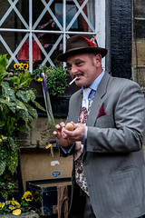 Spiv (LeeS24) Tags: yorkshire suit eggs reenactment 40s haworth spiv contraband 2016