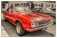 1967 Chevrolet Camaro. (Suggsy69) Tags: red classic chevrolet car nikon classiccar automobile camaro american vehicle brandshatch selectivecolour d5200
