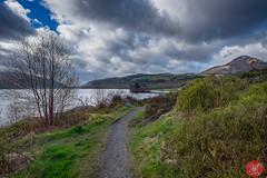 On the way to Skye 3 (Kasia Sokulska (KasiaBasic)) Tags: sky lake mountains clouds landscape scotland spring highlands trail loch lomond lochlomond inveruglas fujix