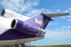 FedEx Boeing 727-200 N257FE (nick123n) Tags: speed plane airport aviation jet engine fast cargo ohare planes boeing fedex ord spotting 727