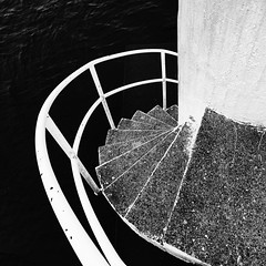 Diving tower, Haraldsvang - Norway (Vest der ute) Tags: water norway stairs fence rogaland haugesund fav25 divingtower g7x