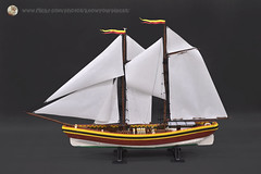 proper photo this time... (Hoang H Dang) Tags: brick lego vietnam sail hull built yatch