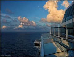 Anthem of the Seas (Retired....with camera!) Tags: sunset canon eos royalcaribbean 70d tonemapping efex anthemoftheseas pspx8 paintshopprox8