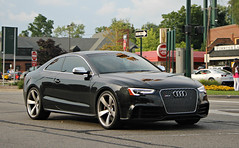 Audi RS5 (RudeDude2140a) Tags: black sports car exotic audi coupe rs5