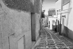 Erice (Lord Seth) Tags: 2015 d5000 erice lordseth sicilia bw biancoenero borgo candid italy medievale nikon streetphotography vicoli