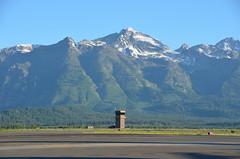 Mountain airport (afagen) Tags: mountain airport jackson wyoming grandteton jacksonhole controltower jac grandtetonnationalpark jacksonholeairport