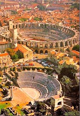 Ancient Rome. Roman Theater and Amphitheatrer, Arles, France (mike catalonian) Tags: france theater amphitheater arles ancientrome
