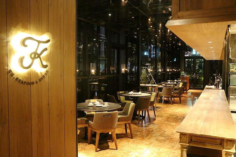 台北精品旅館賦樂旅居旗下TK Seafood & Steak183