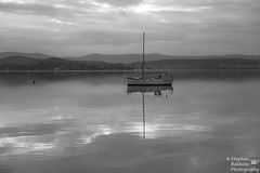 0D6A1905 - Reflection (Stephen Baldwin Photography) Tags: trees lake water landscape bay waterfront macquarie foreshore boast warners