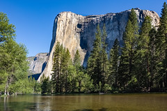 Peaceful Morning at El Capitan (jeff_a_goldberg) Tags: california summer us unitedstates nps unescoworldheritagesite unesco yosemite yosemitenationalpark nationalparkservice elcapitan hdr mercedriver