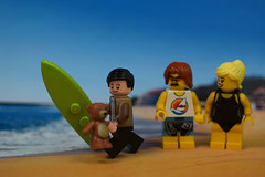 Surfin' USA: The Bean's Way! (Lesgo LEGO Foto!) Tags: bear trip summer vacation holiday ted cute love beach swim fun toy toys nikon holidays surf lego mr teddy surfer surfing bean teddybear mister minifig collectible minifigs beachgirl omg collectable surfin mrbear summerholiday minifigure mrbean beachboy minifigures d5300 legophotography legography collectibleminifigures coolminifig 60mmf28drmicro collectableminifigurenikkor