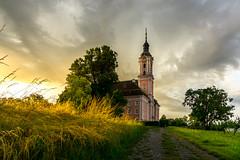 Kloster Birnau (klaus72) Tags: church lakeconstance sunrise sonnenaufgang bodensee klosterbirnau kirche sonya6000 a6000 pz1650oss alpha