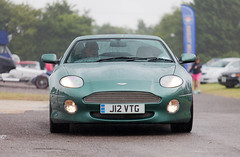 Aston Martin DB7 (torquayadam) Tags: aston martin v12 canon 5d mark 2 mkii castle combe bristol motor club 24 july 2016 db7 green