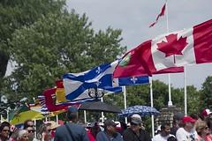 Canadian Flags (Stephen Gardiner) Tags: ottawa ontario 2016 canadaday parliamenthill canada july1 celebration pentax k3ii 100300
