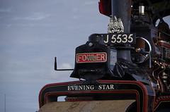 Evening Star (Sundornvic) Tags: steamroller steam british english ancient vintage old engineering